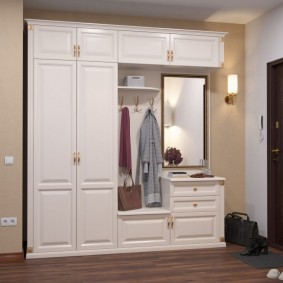 мебельная стенка в прихожую варианты