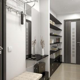 мебельная стенка в прихожую идеи вариантов
