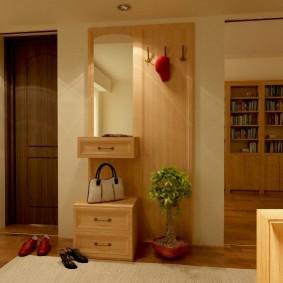 мебельная стенка в прихожую идеи интерьер