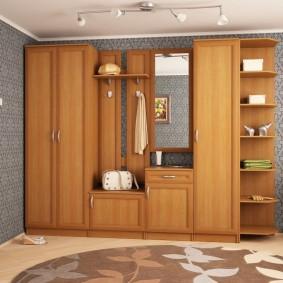 мебельная стенка в прихожую фото дизайн