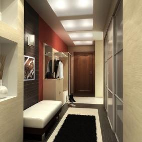 мебельная стенка в прихожую фото дизайна