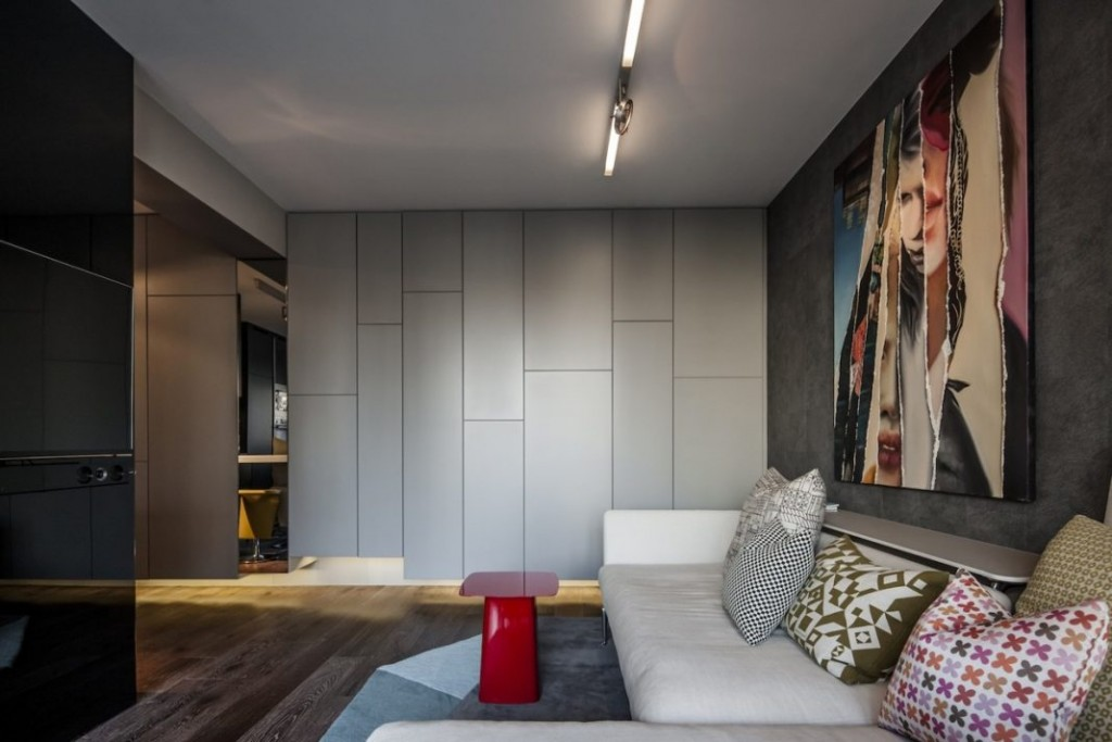 Интерьер квартиры в стиле минимализма для мужчины