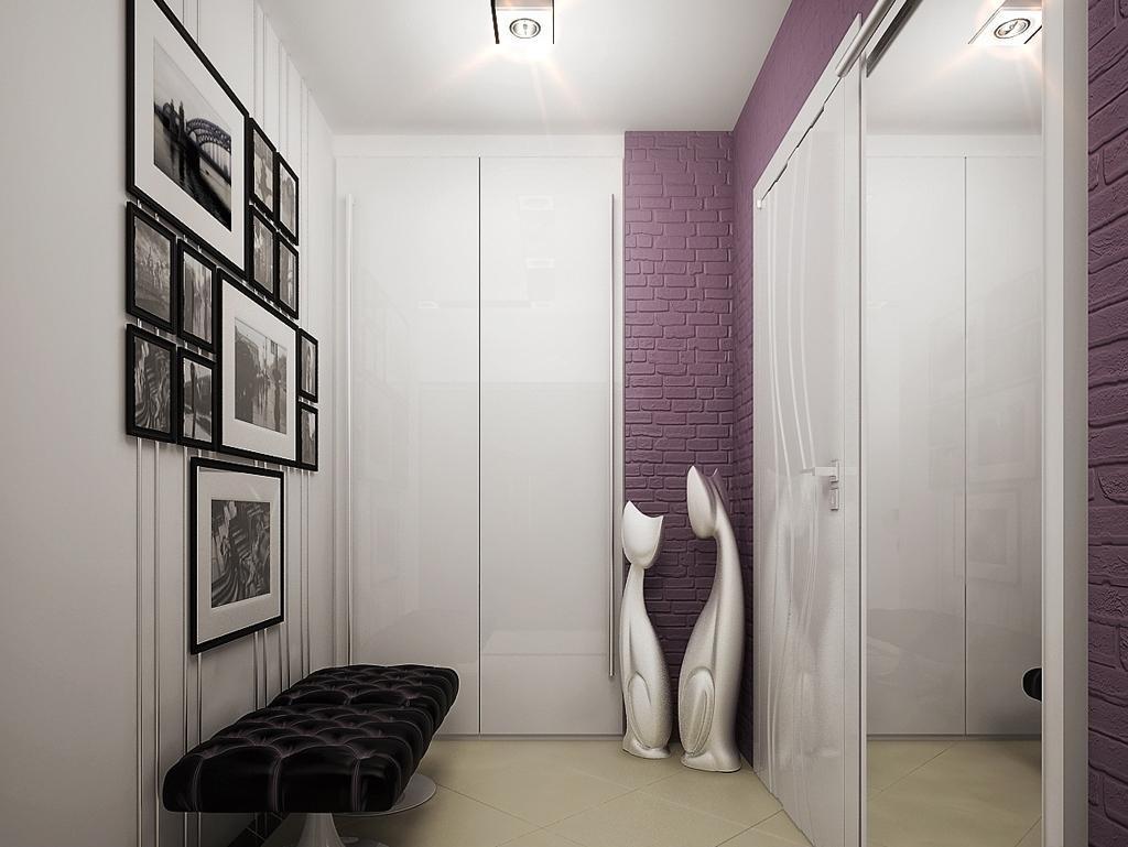 Декор прихожей в стиле минимализма