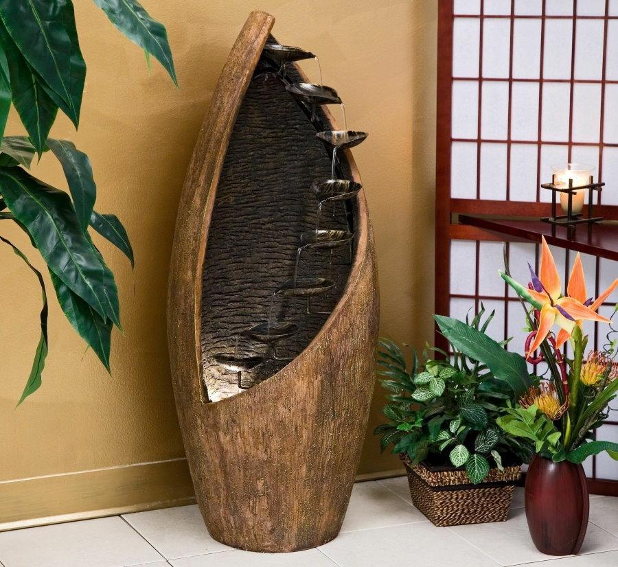 Напольная модель комнатного фонтана