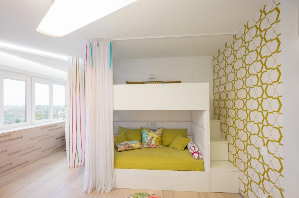 Обои для детской комнаты в стиле хай-тек