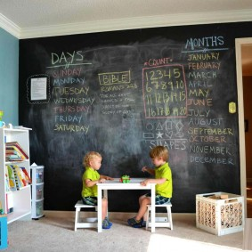 обои в детской комнате идеи фото