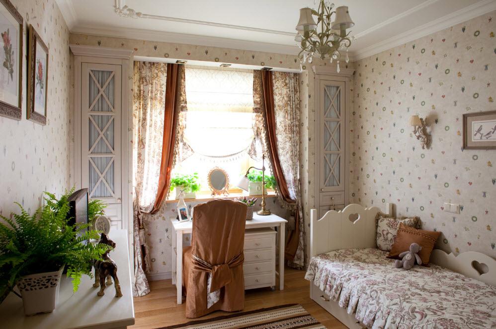 Оформление интерьера комнаты для девочки-подростка