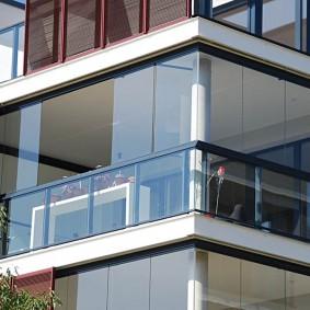 остекление балконов и лоджий идеи дизайна