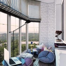 остекление балконов и лоджий варианты дизайна
