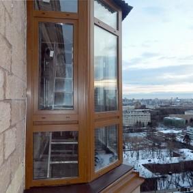 остекление балконов и лоджий фото виды