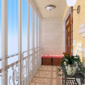 остекление балконов и лоджий виды дизайна