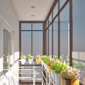остекление балконов и лоджий в квартире идеи