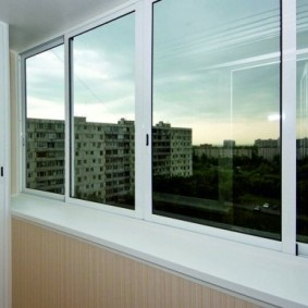 остекление балконов и лоджий в квартире идеи фото
