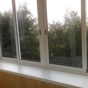 остекление балконов и лоджий в квартире дизайн