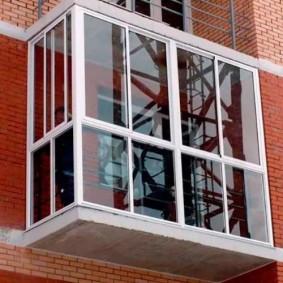 остекление балконов и лоджий в квартире варианты фото