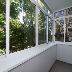 остекление балконов и лоджий дизайн