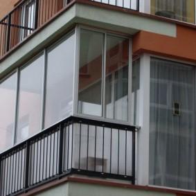 остекление балконов и лоджий фото дизайн