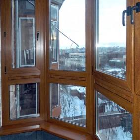 остекление балконов и лоджий фото дизайна