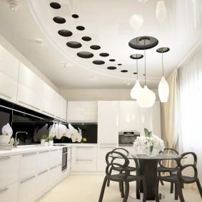освещение для натяжных потолков идеи дизайн