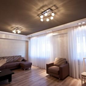освещение для натяжных потолков фото декор