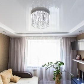 освещение для натяжных потолков декор идеи