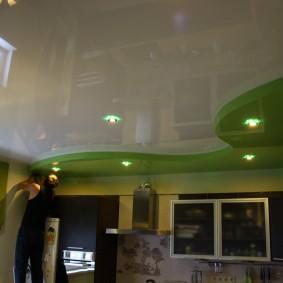 освещение для натяжных потолков виды