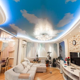освещение для натяжных потолков виды фото
