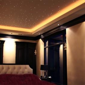 освещение для натяжных потолков фото видов