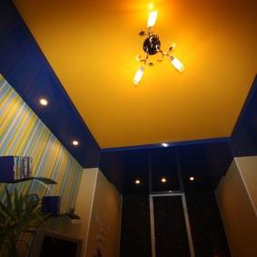 освещение для натяжных потолков виды идеи