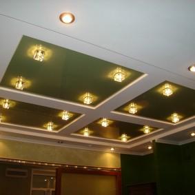 освещение для натяжных потолков обзор