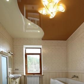освещение для натяжных потолков фото дизайна