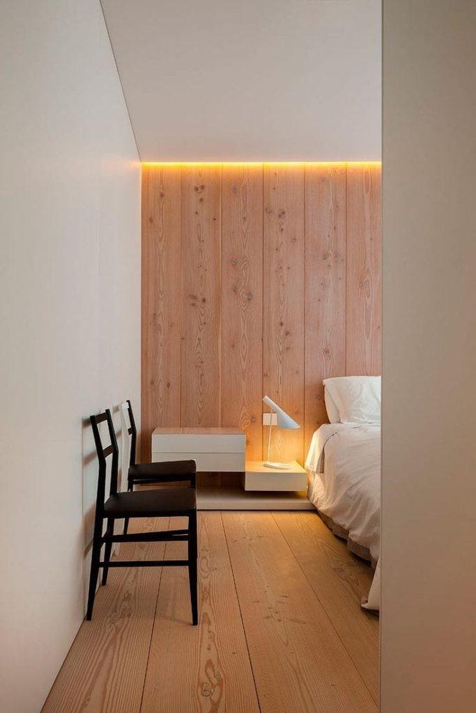Светодиодная подсветка потолка в спальне
