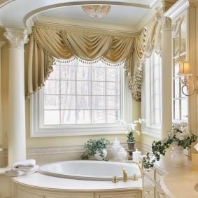 отделка пола в ванной комнате идеи