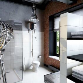 отделка пола в ванной комнате идеи фото