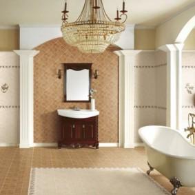 отделка пола в ванной комнате идеи вариантов