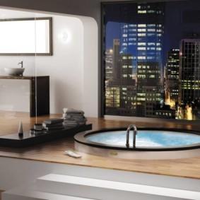 отделка пола в ванной комнате виды фото