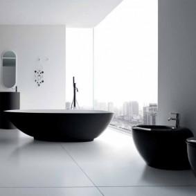 отделка пола в ванной комнате виды декора
