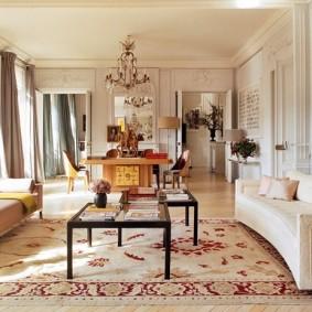 парижский стиль интерьера