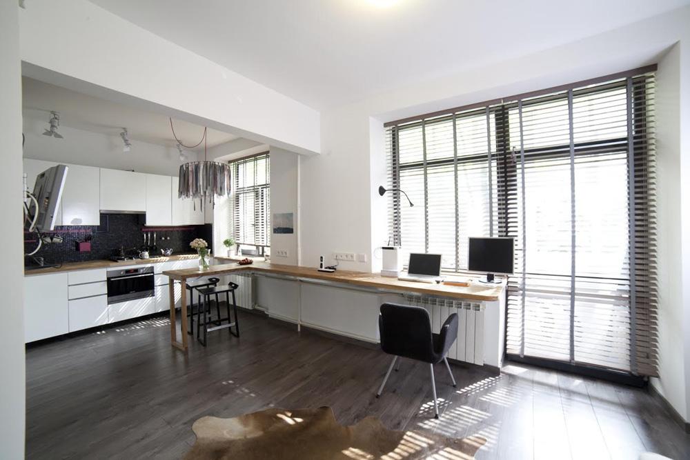 Интерьер однокомнатной квартиры для холостяка