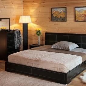 прикроватные тумбочки для спальни декор фото