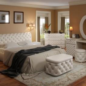 прикроватные тумбочки для спальни идеи декор