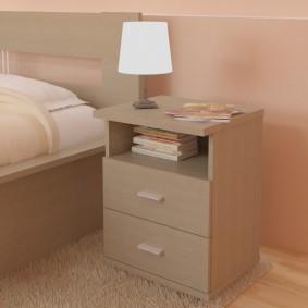 прикроватные тумбочки для спальни идеи декора
