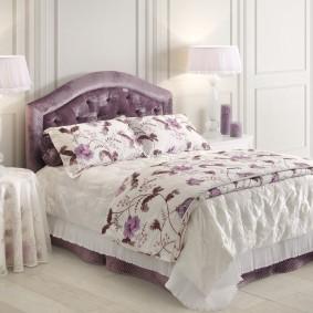 прикроватные тумбочки для спальни фото интерьер