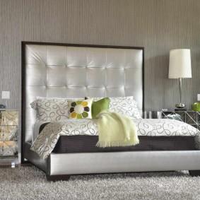 прикроватные тумбочки для спальни интерьер идеи