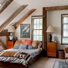 прикроватные тумбочки для спальни оформление фото