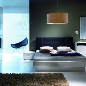 прикроватные тумбочки для спальни фото оформление
