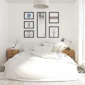 прикроватные тумбочки для спальни фото оформления