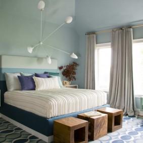прикроватные тумбочки для спальни оформление идеи
