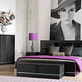 прикроватные тумбочки для спальни фото вариантов