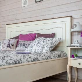 прикроватные тумбочки для спальни фото идеи